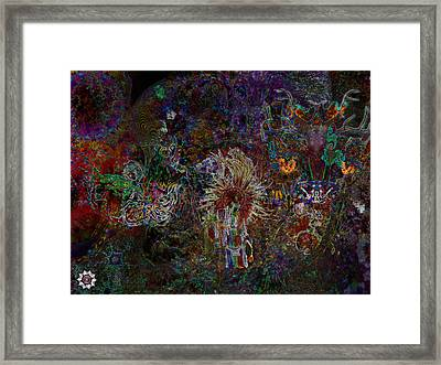 The Witch Doctor And Baba Yaga Framed Print