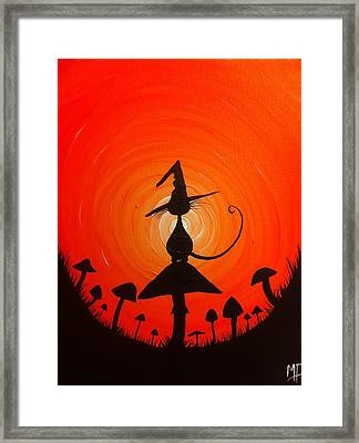 The Witches Hat Framed Print by Michael Prosper