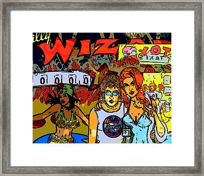The Wizard Framed Print by Wingsdomain Art and Photography