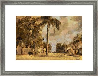 The Wonder Of Fort Pierce Framed Print by Trish Tritz