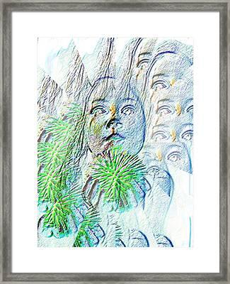 The Wonder Of The Child  Framed Print