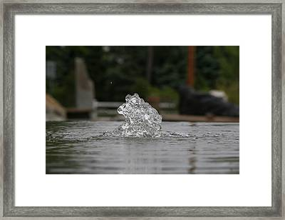The Wonder Of Water Framed Print