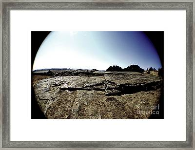 The World In A Bubble Framed Print by Allen Sindlinger