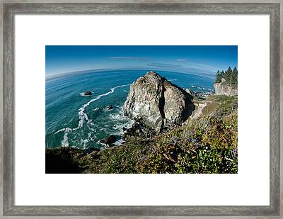 The World Is Round Framed Print