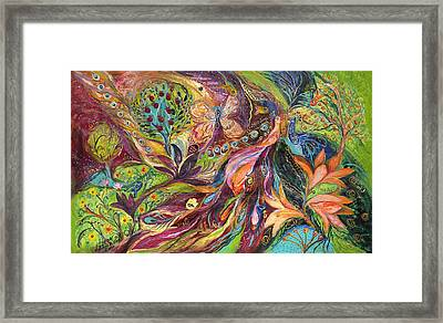 The World Of Lilies ...... The Original Can Be Purchased Directly From Www.elenakotliarker.com Framed Print by Elena Kotliarker