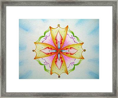 The World Of Truth  Framed Print by Asida Cheng