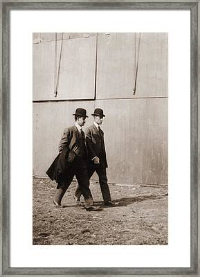 The Wright Brothers Framed Print