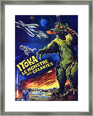 The X From Outer Space, Aka Uchu Framed Print by Everett