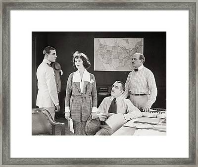 The Yelllow Typhoon, 1920 Framed Print by Granger
