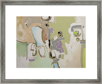 The Yellow Road Framed Print by Linda Monfort