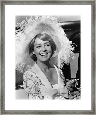 The Yellow Rolls Royce, Jeanne Moreau Framed Print by Everett