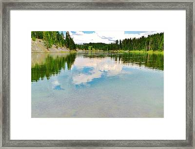 The Yellowstone Framed Print by Virginia Lei Jimenez