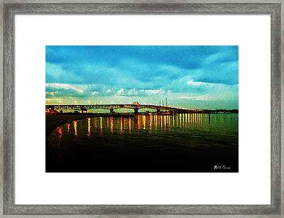 The York River Framed Print by Bill Cannon