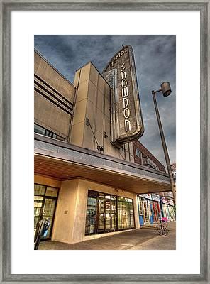 Theatre Snowdon Framed Print