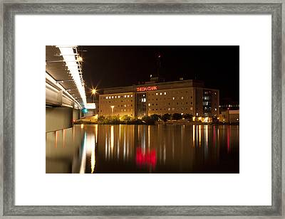 Theda Clark Hospital Framed Print