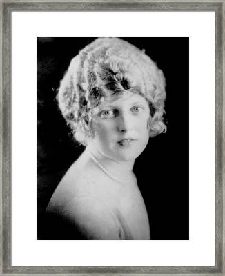 Thelma Todd, Ca. 1925 Framed Print