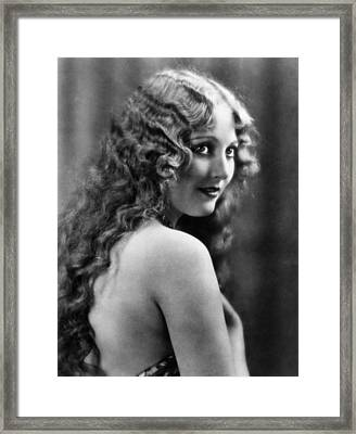 Thelma Todd, Ca. Late 1920s Framed Print by Everett