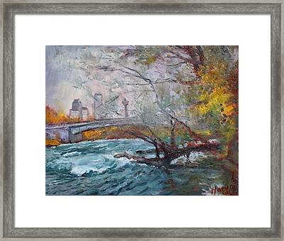 ....then The Rain Started Framed Print by Ylli Haruni