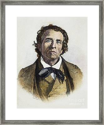 Theodore Weld (1803-1895) Framed Print by Granger