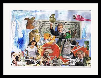 Adam Winnie Framed Prints
