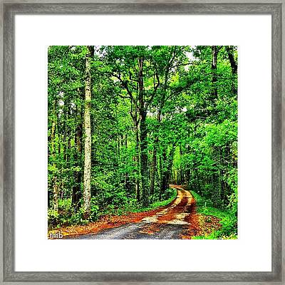There Are Times In Our Journey Through Framed Print