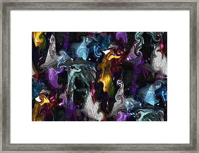 There Be Ghosts Framed Print by Kristin Elmquist