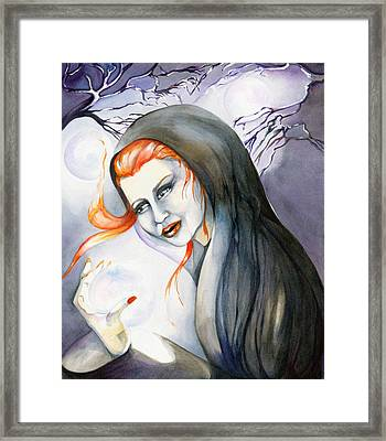 There's Magick In The Air Framed Print