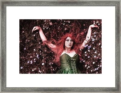 There's Nothing I Can Do To Stop It Framed Print by Eating Strawberries