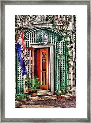 Theresa's Stockbridge Cafe Framed Print by Tom Prendergast