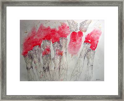 Thermo Shake Framed Print