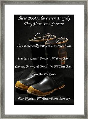 These Boots ... Framed Print by Ken  Tucker