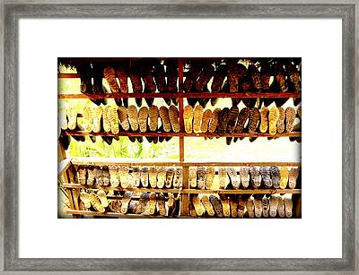 These Boots Are Made For Walking Framed Print by Fabio Lorenzano