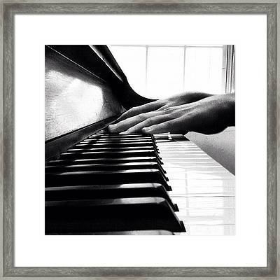 These Hands Will Always Be Rough Framed Print