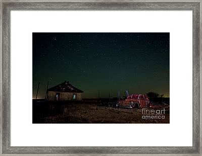 They Abandoned Us Framed Print by Keith Kapple