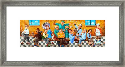 They March To The Sound Of A Different Drummer Framed Print
