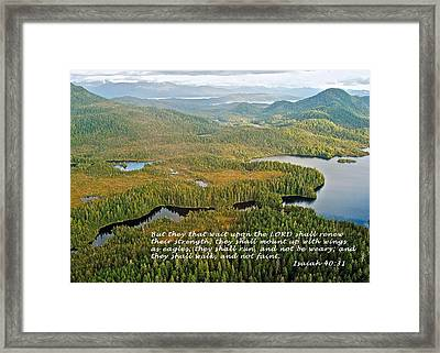 They That Wait 8995 Framed Print