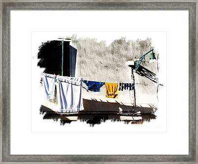They That Wash  Framed Print by Heiko Koehrer-Wagner