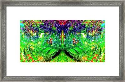 They Watch Framed Print by Christian Allen