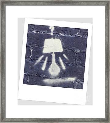 Thin Edge Fascist Wedge Framed Print by Joe Jake Pratt