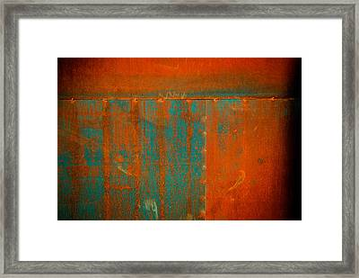 Things Forgotten Framed Print