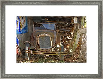 Things Of Past Framed Print
