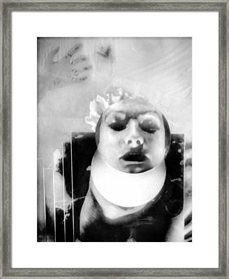 Think Of Things To Come Framed Print by Rory Sagner