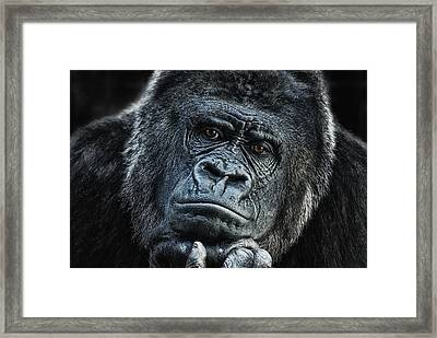 thinking about U Framed Print