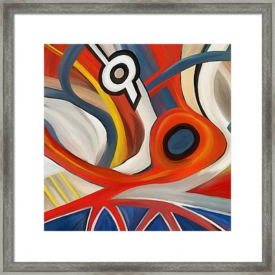 Thinking  Framed Print by Amarok A