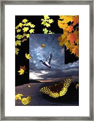 Third Canvas Framed Print