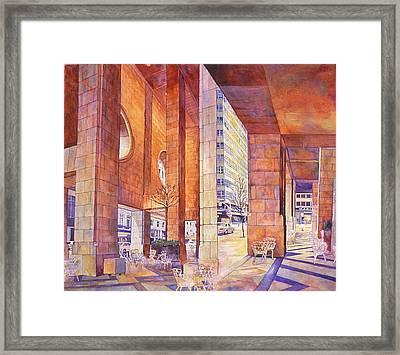 Third In Att Series Framed Print