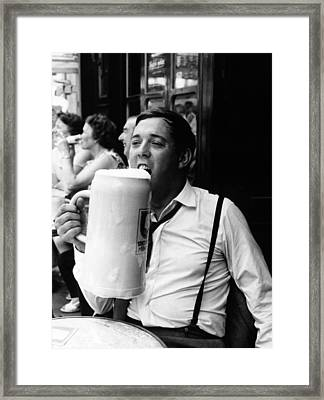 Thirst Quencher Framed Print by Keystone