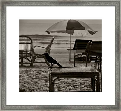 Thirst Framed Print by Vishal K