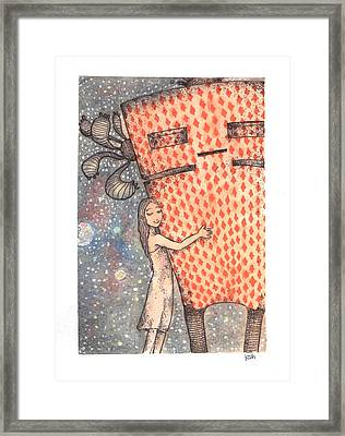 This Ain't A Lonely World Framed Print by Katchakul Kaewkate