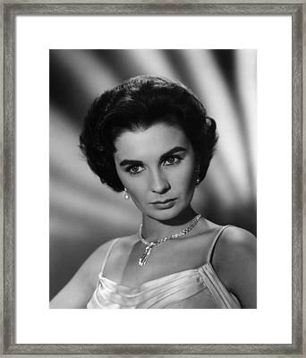This Earth Is Mine, Jean Simmons, 1959 Framed Print